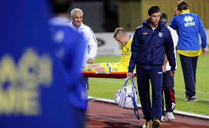 Husmani suffered a serious injury